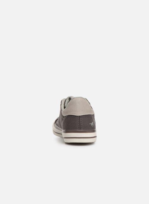 Sneaker Mustang shoes 5024308 grau ansicht von rechts