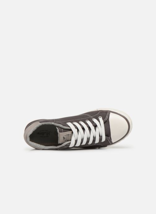 Sneaker Mustang shoes 5024308 grau ansicht von links
