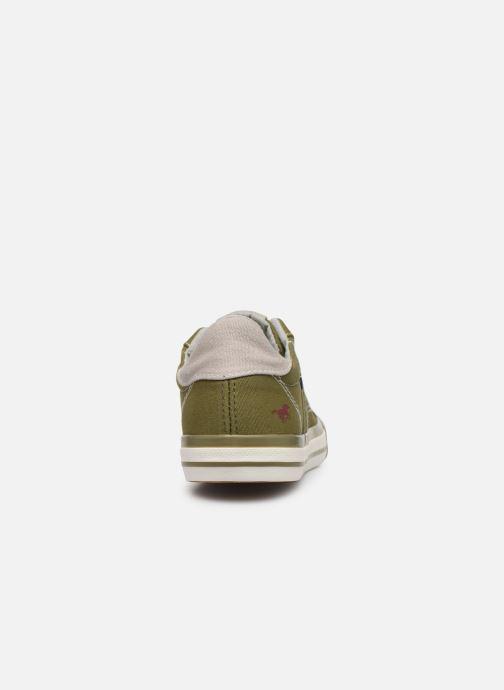 Sneaker Mustang shoes 5024308 grün ansicht von rechts