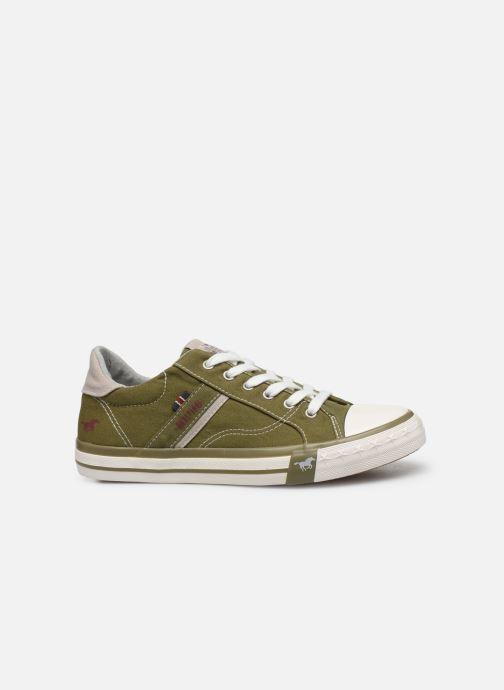 Baskets Mustang shoes 5024308 Vert vue derrière