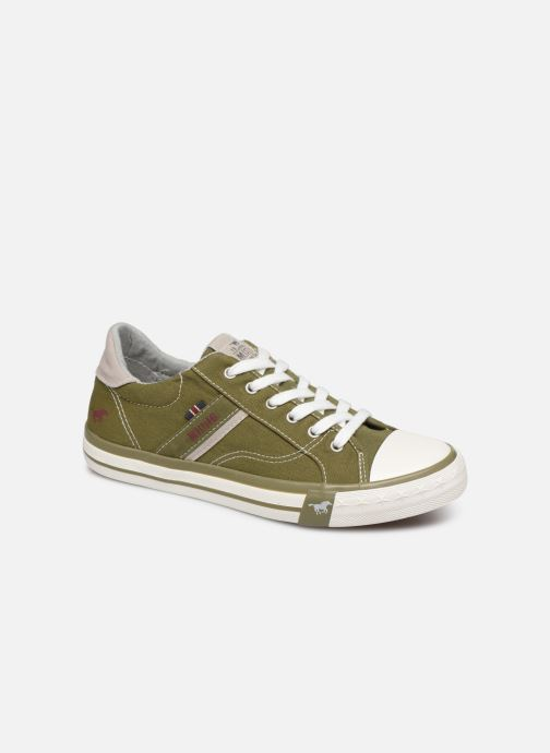 Baskets Mustang shoes 5024308 Vert vue détail/paire