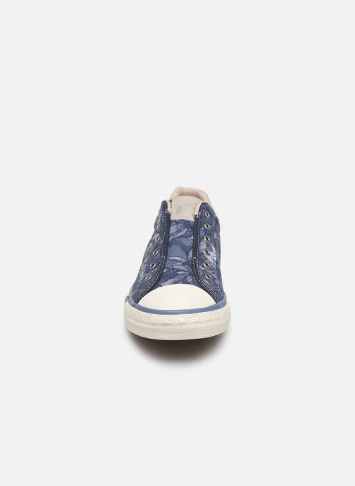 Baskets Mustang shoes 5024401 Bleu vue portées chaussures