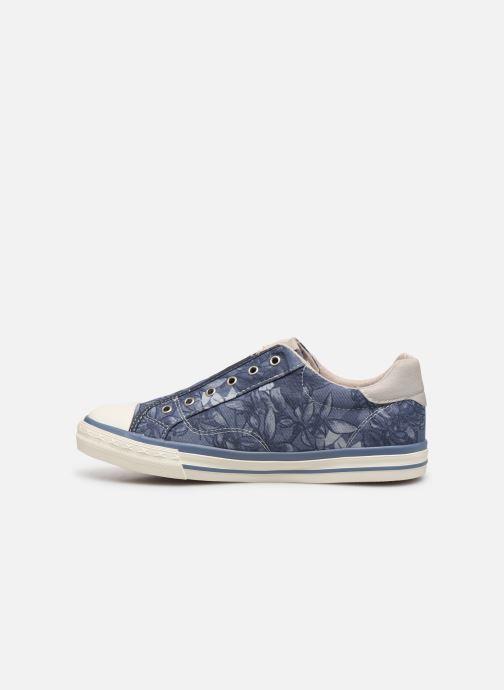 Baskets Mustang shoes 5024401 Bleu vue face