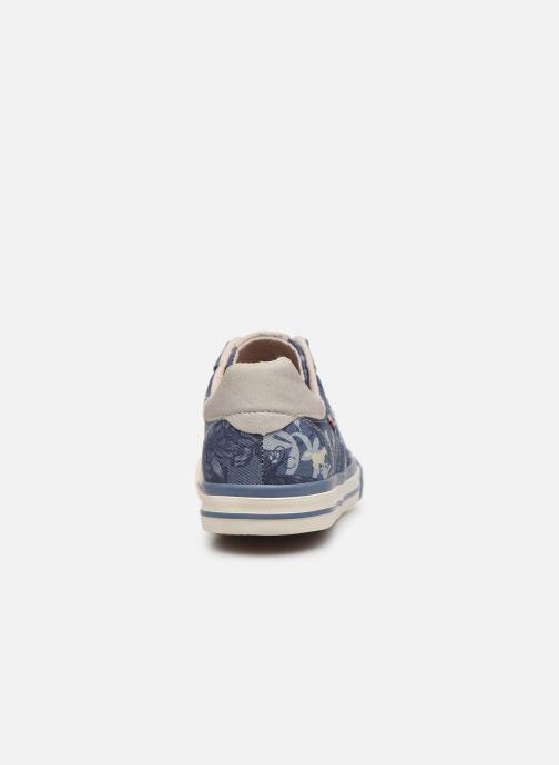 Baskets Mustang shoes 5024401 Bleu vue droite