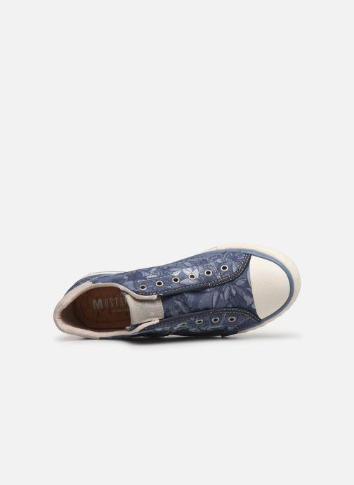 Baskets Mustang shoes 5024401 Bleu vue gauche