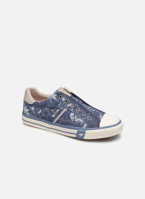 Baskets Mustang shoes 5024401 Bleu vue détail/paire