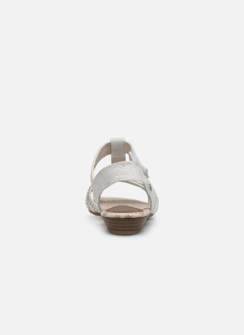 Sandals Mustang shoes 5029812 Silver view from the right