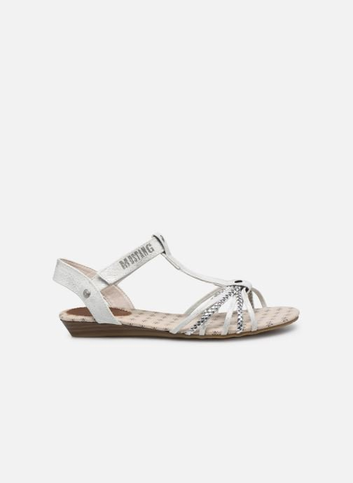 Sandals Mustang shoes 5029812 Silver back view
