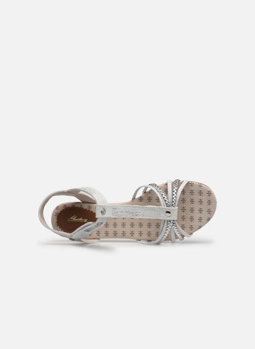 Sandalen Mustang shoes 5029812 Zilver links