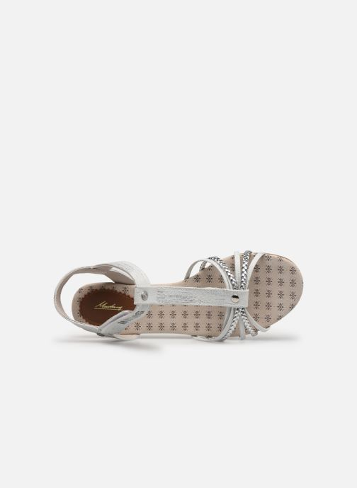 Sandals Mustang shoes 5029812 Silver view from the left