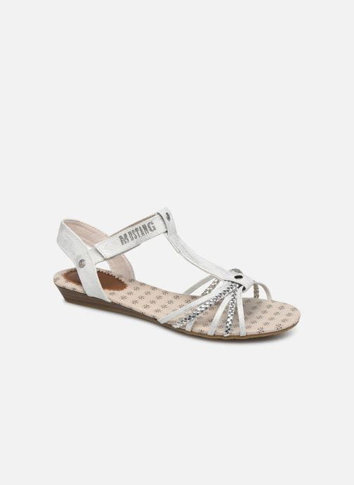 Sandals Mustang shoes 5029812 Silver detailed view/ Pair view