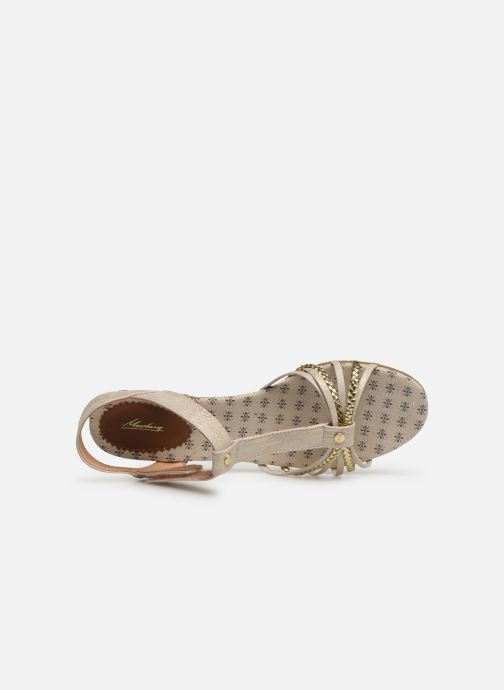 Sandales et nu-pieds Mustang shoes 5029812 Or et bronze vue gauche