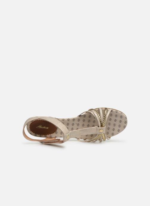 Sandali e scarpe aperte Mustang shoes 5029812 Oro e bronzo immagine sinistra