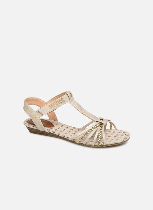 Sandales et nu-pieds Mustang shoes 5029812 Or et bronze vue détail/paire