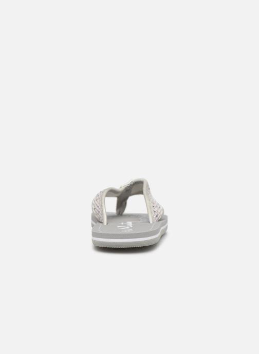 Zehensandalen Mustang shoes 5041705 grau ansicht von rechts