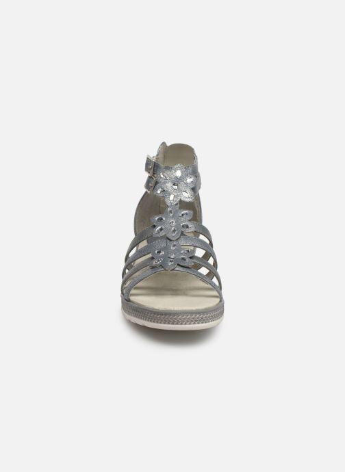 Sandalen Mustang shoes 5052801 grau schuhe getragen