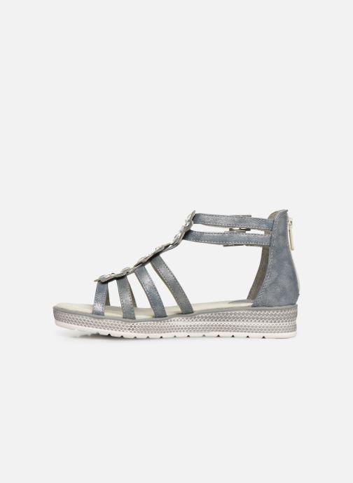 Sandalen Mustang shoes 5052801 grau ansicht von vorne