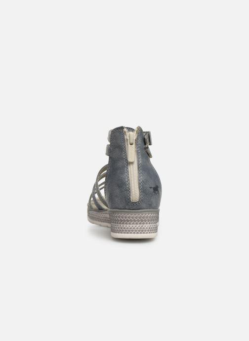 Sandalen Mustang shoes 5052801 grau ansicht von rechts