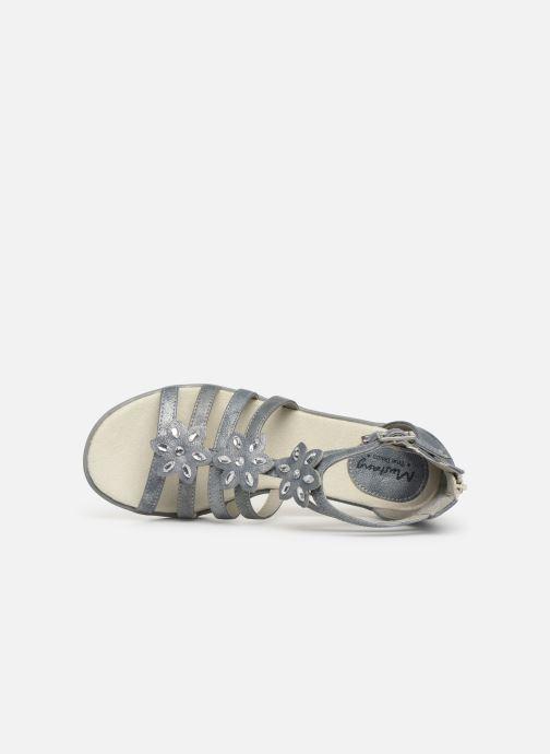Sandalen Mustang shoes 5052801 grau ansicht von links