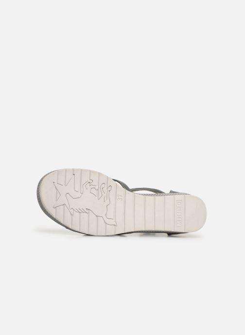 Sandalen Mustang shoes 5052801 grau ansicht von oben