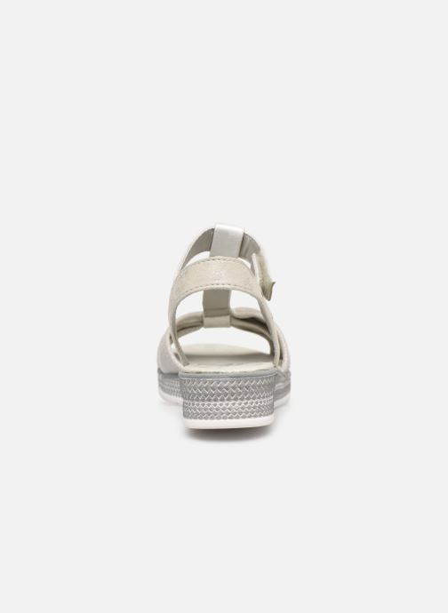 Sandali e scarpe aperte Mustang shoes 5052802 Argento immagine destra