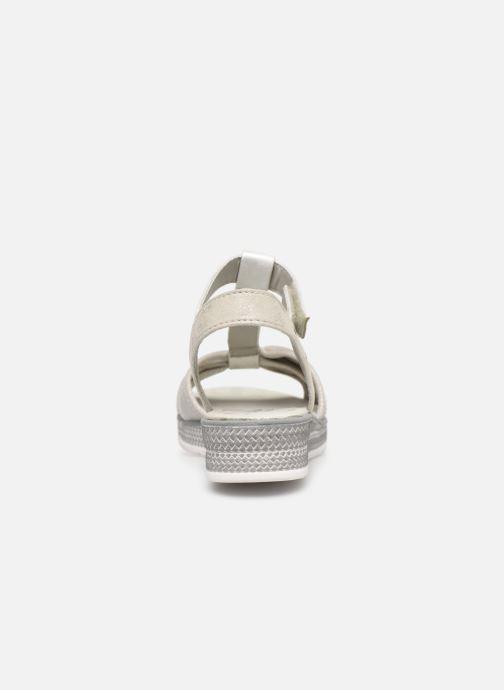 Sandales et nu-pieds Mustang shoes 5052802 Argent vue droite
