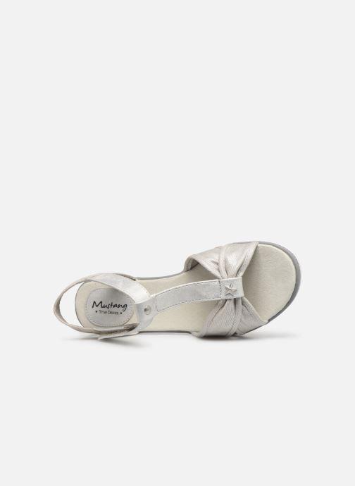 Sandales et nu-pieds Mustang shoes 5052802 Argent vue gauche