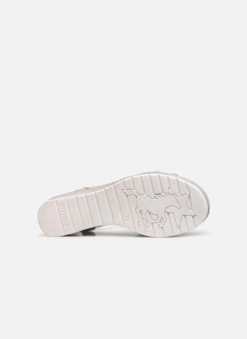 Sandales et nu-pieds Mustang shoes 5052802 Argent vue haut