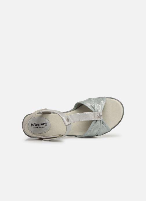 Sandalen Mustang shoes 5052802 Blauw links