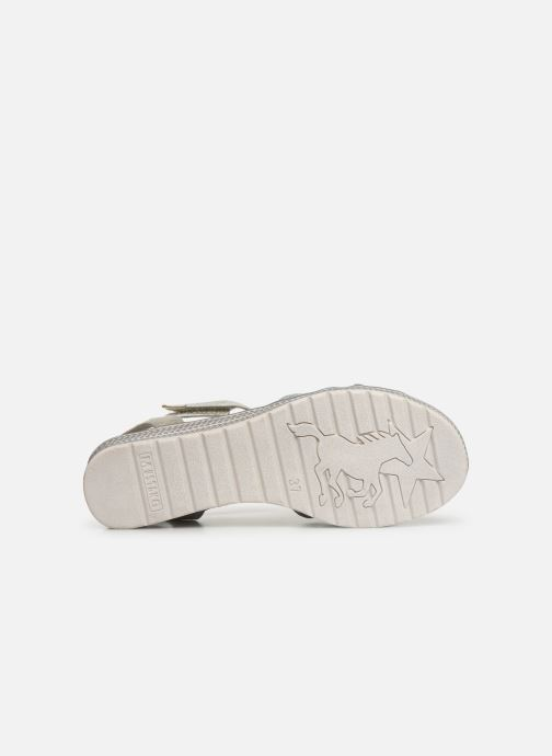 Sandalen Mustang shoes 5052802 Blauw boven