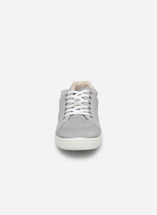 Sneaker Mustang shoes 5053303 silber schuhe getragen