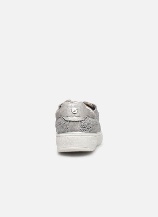 Sneaker Mustang shoes 5053303 silber ansicht von rechts