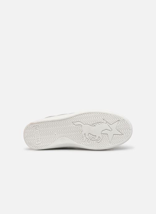 Sneaker Mustang shoes 5053303 silber ansicht von oben