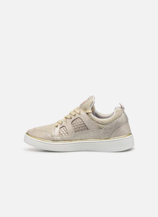 Baskets Mustang shoes 5053304 Or et bronze vue face