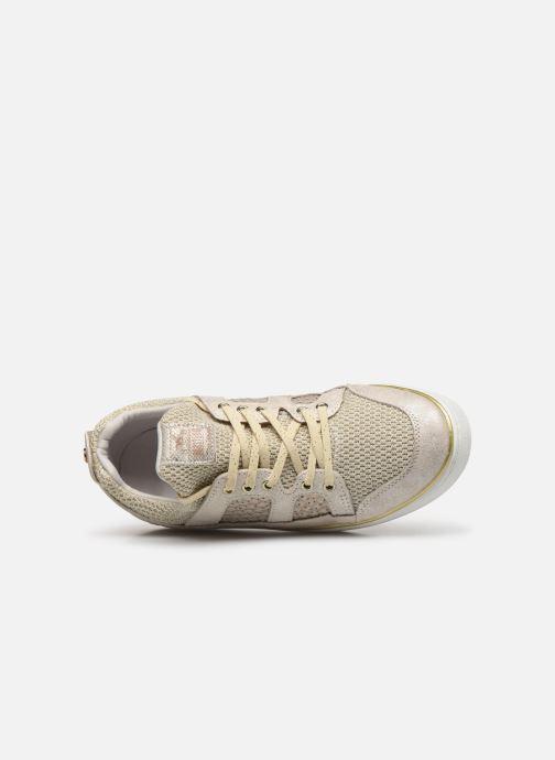 Baskets Mustang shoes 5053304 Or et bronze vue gauche