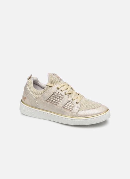 Baskets Mustang shoes 5053304 Or et bronze vue détail/paire