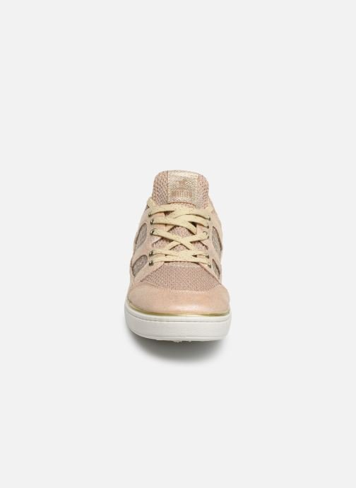 Baskets Mustang shoes 5053304 Rose vue portées chaussures