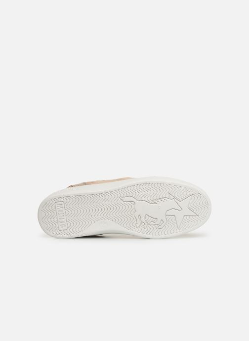 Baskets Mustang shoes 5053304 Rose vue haut