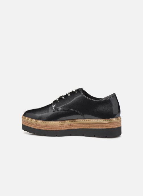 Zapatos con cordones Pepe jeans Luton Land C Negro vista de frente