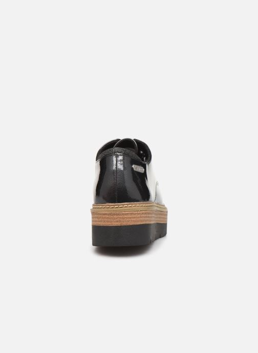 Zapatos con cordones Pepe jeans Luton Land C Negro vista lateral derecha