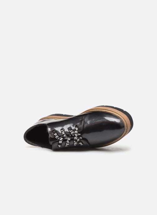 Zapatos con cordones Pepe jeans Luton Land C Negro vista lateral izquierda