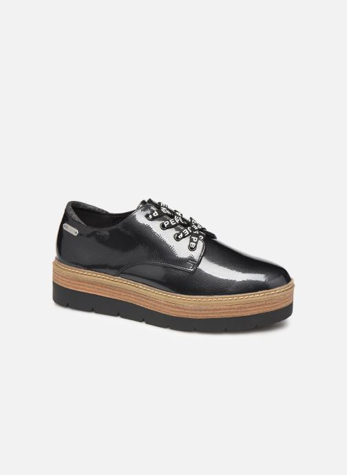 Chaussures à lacets Pepe jeans Luton Land C Noir vue détail/paire