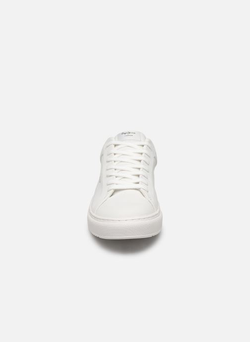 Trainers Pepe jeans Adams Samy C White model view