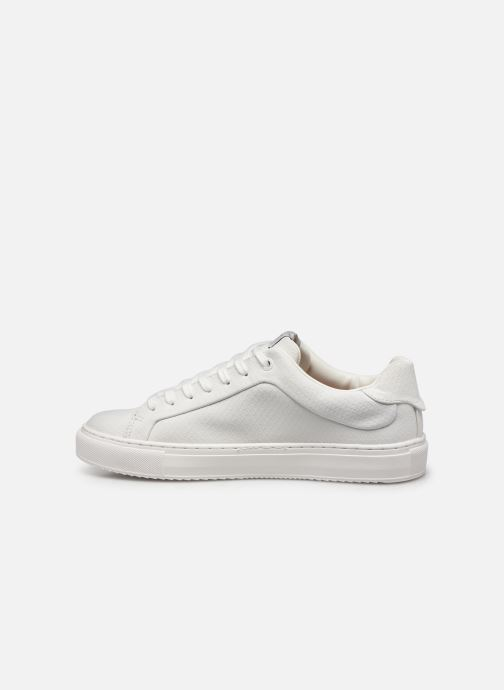Trainers Pepe jeans Adams Samy C White front view