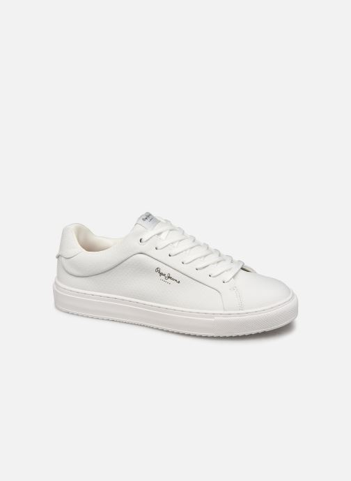 Trainers Pepe jeans Adams Samy C White detailed view/ Pair view