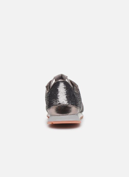 Sneaker Pepe jeans Verona W New Sequins C grau ansicht von rechts