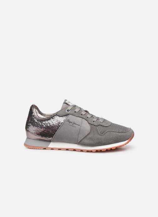 Sneakers Pepe jeans Verona W New Sequins C Grijs achterkant