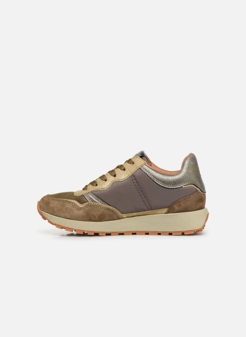 Sneakers Pepe jeans Dean Bass C Goud en brons voorkant