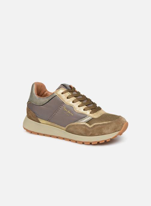 Sneakers Pepe jeans Dean Bass C Goud en brons detail