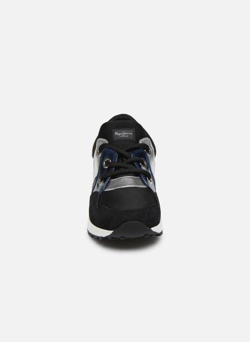 Baskets Pepe jeans Dean Fashion C Noir vue portées chaussures